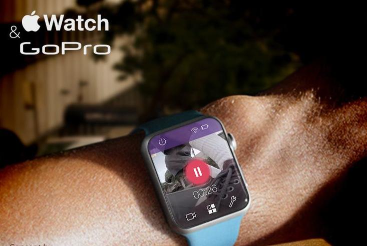 Aplicação para Apple Watch permite controlar GoPro