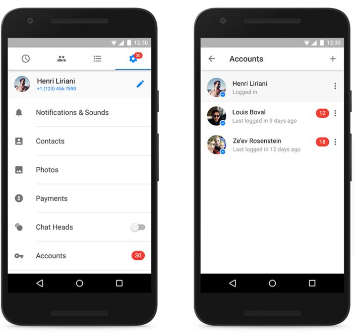 Facebook Messenger: Saiba como usar várias contas