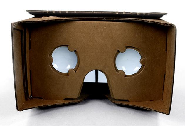 Google cardboard realidade virtual