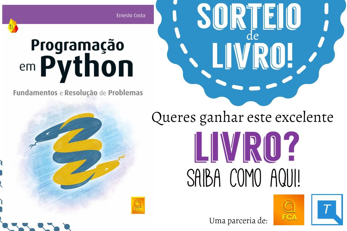 Ganhe um livro sobre Python com o Tech em Português