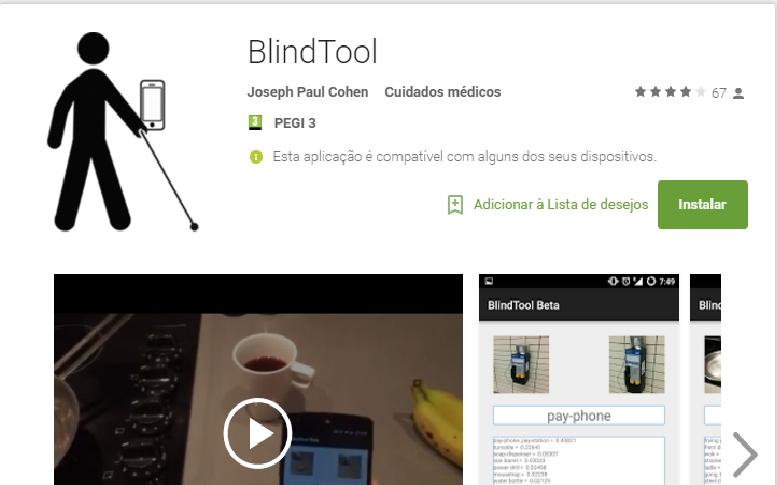 You are currently viewing Blind Tool: invisuais descobrem que objetos os rodeiam através do telemóvel