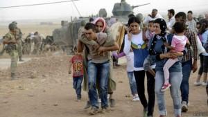 Abrigo usável 3-em-1 para os refugiados