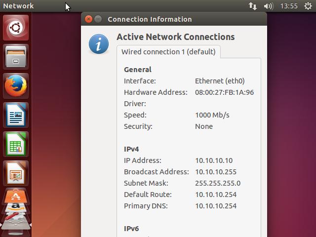 Configuração do Servidor DHCP - teste pool