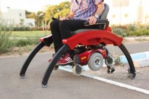 Step-up, a cadeira de rodas que sobe degraus