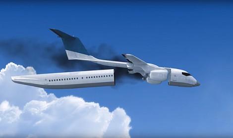 Read more about the article Avião de passageiros liberta cabine em caso de acidente