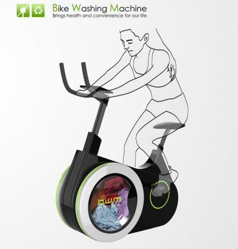 Read more about the article A invenção que te permite lavar a roupa e andar de bicicleta