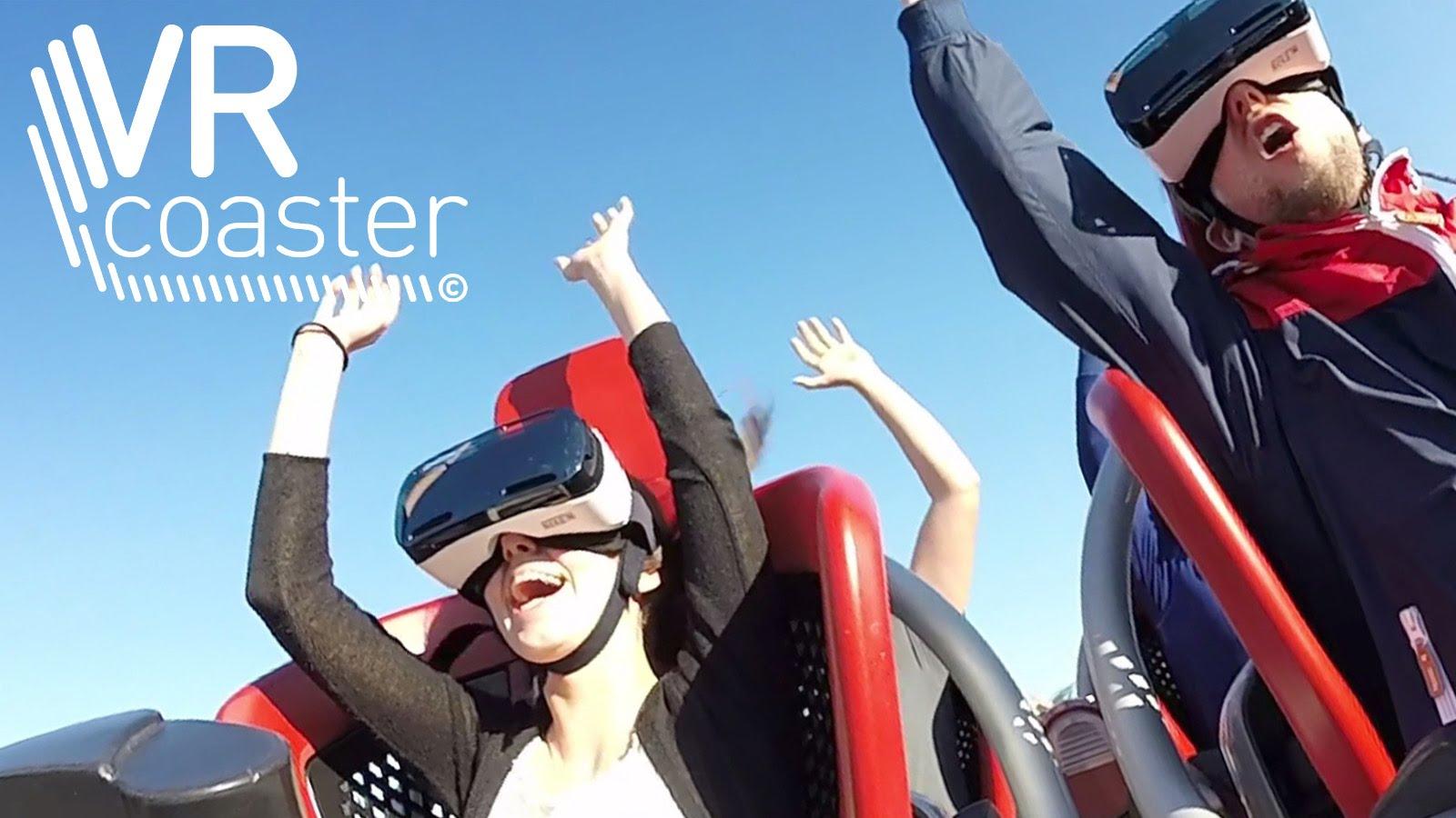 Andar de Montanha Russa com… Realidade Virtual