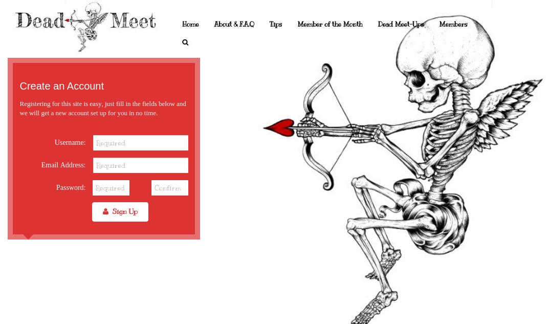 Dead Meet: a rede social para os profissionais da indústria da morte