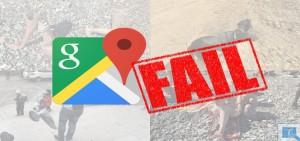 Read more about the article Imagens bizarras – veja o resultado de fazer demasiado zoom no Google Maps!