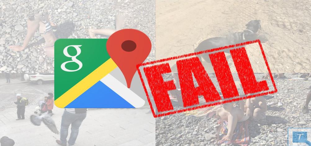 Imagens bizarras – veja o resultado de fazer demasiado zoom no Google Maps!