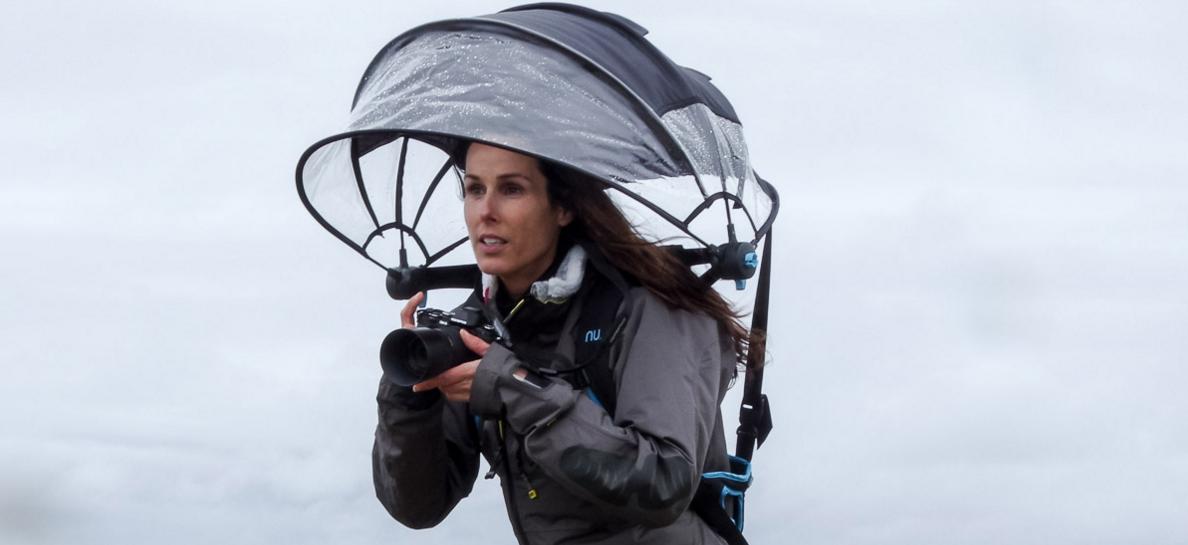 Nubrella: o guarda-chuva 'mãos-livres'