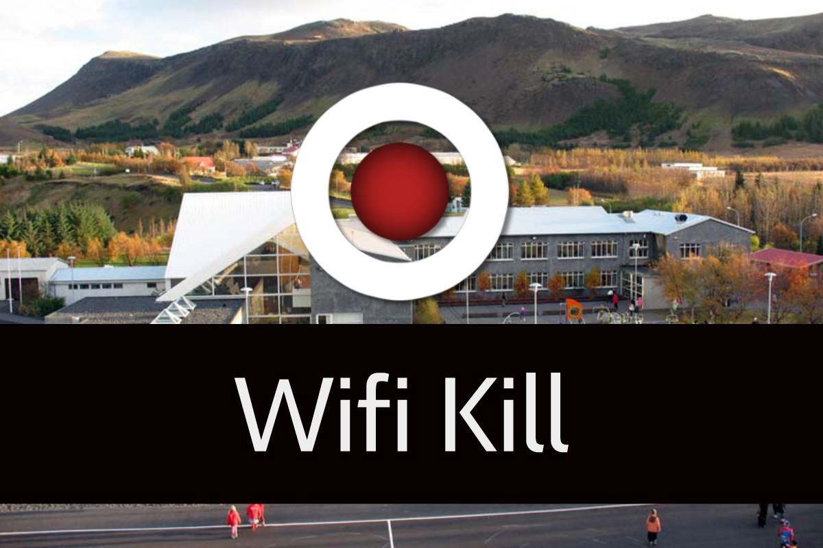 Escola fica sem internet durante 3 dias porque aluno usa Wifi Kill app