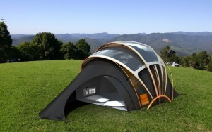 Orange Solar Tent: a tenda inteligente que gera aquecimento e muito mais