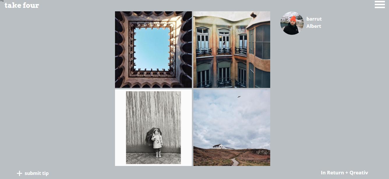 Take Four: Descubra artistas do Instagram em cada aba do Chrome