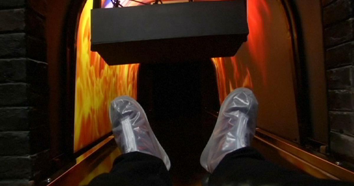 Simulador da morte – Ser cremado