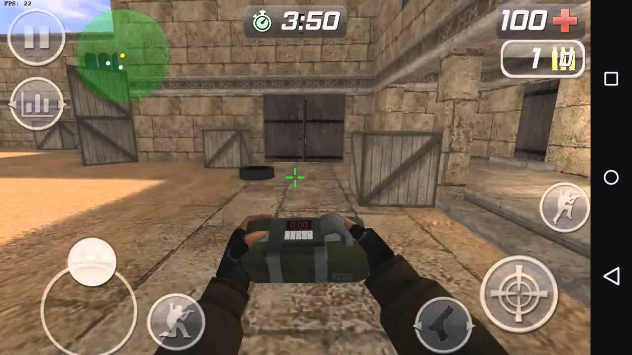 Counter-Strike 1.6 no seu Android