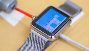 Apple smartwatch com o windows 95