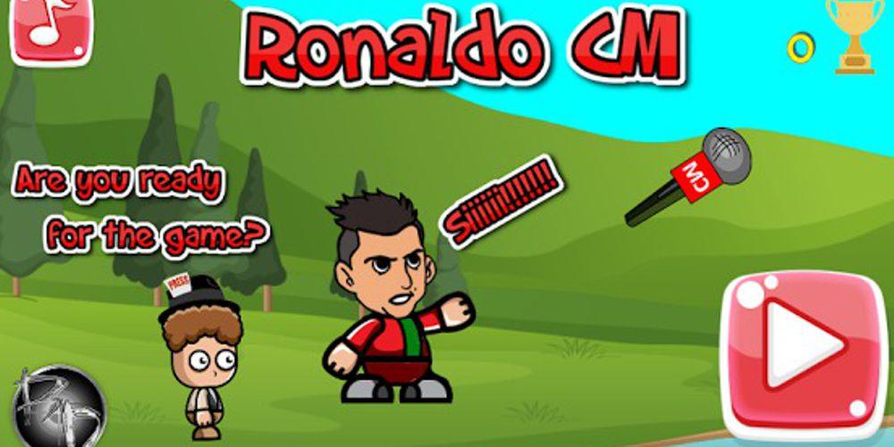 Ronaldo CM: O jogo para telemóvel de Ronaldo e o microfone