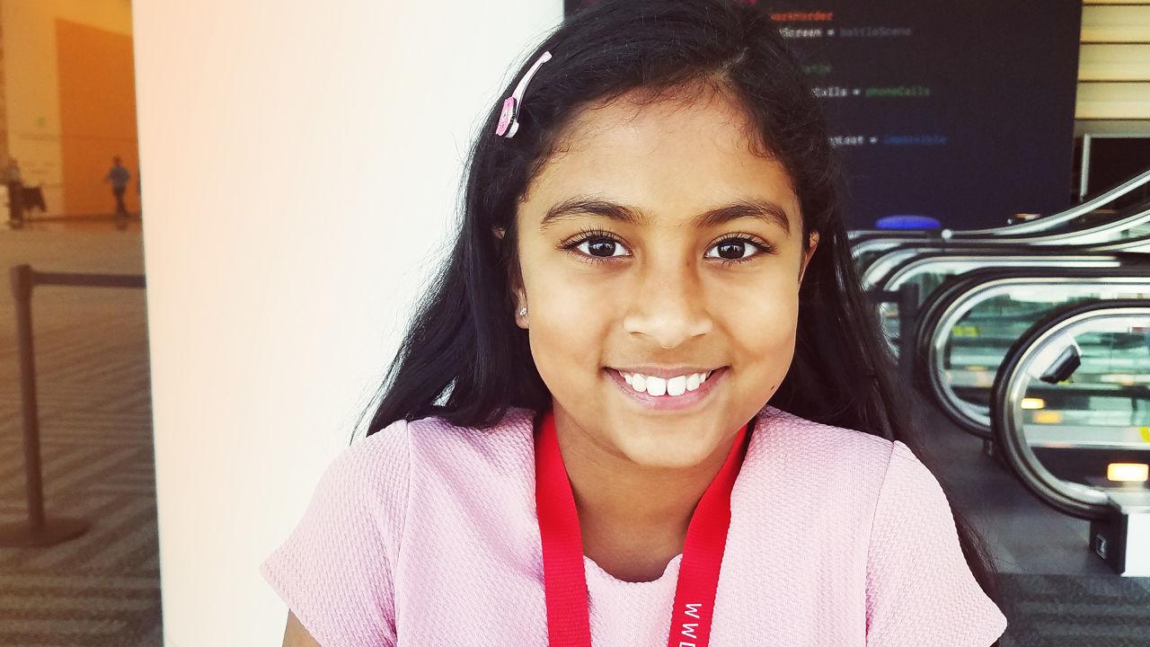 Programadora de 9 anos convidada a evento da Apple