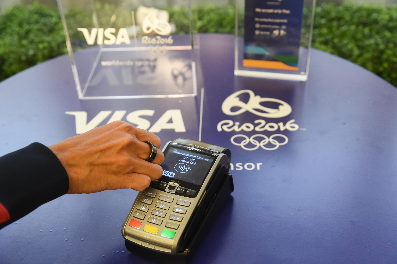 Visa criou anel que permite fazer compras