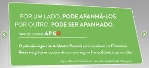 AP GO: O seguro para jogadores de Pókemon Go