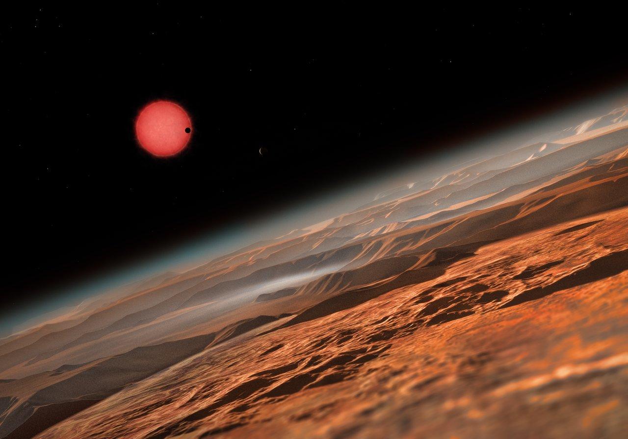 Descobertos três planetas que têm potencial para ser habitáveis