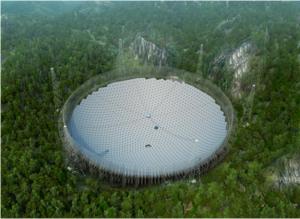 Telescópio FAST: à procura de vida para além da Terra