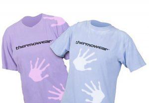 """T-Shirt """"Camaleão"""" muda de cor durante o dia"""