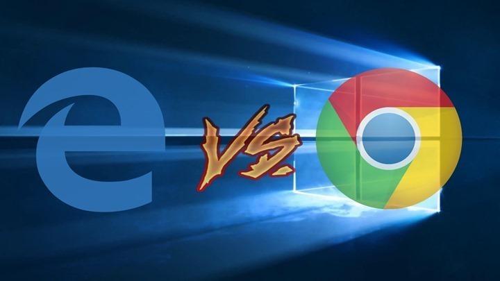 Edge bate completamente o Chrome em testes de bateria