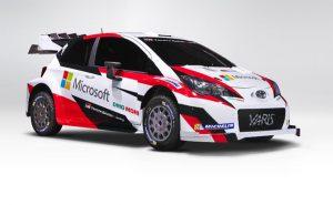 WRC: Microsoft é parceira da Toyota na edição de 2017