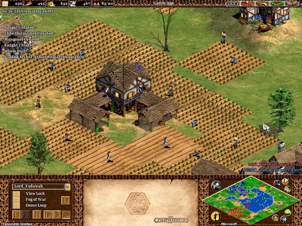 Viagem ao passado: Age of Empires