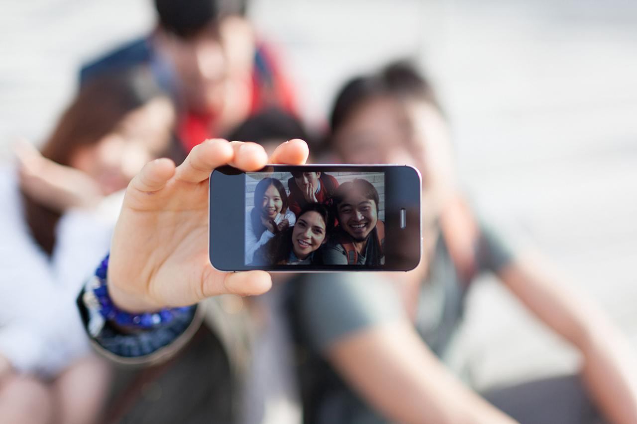 Top 5 das cidades que mais tiram selfies