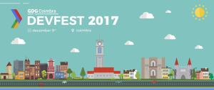DevFest Coimbra'17 é já dia 9 de Dezembro