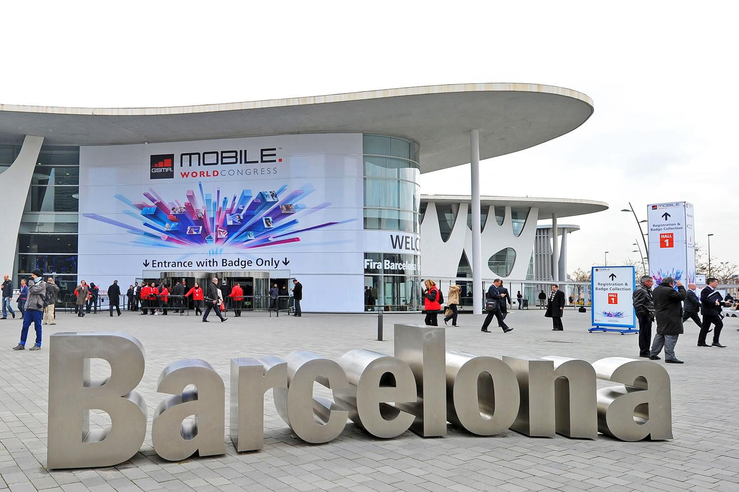 MWC – Mobile World Congress, Dia 1