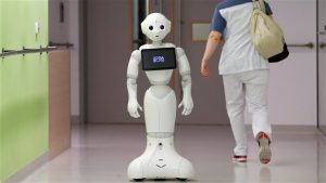 Um robot que dá consultas