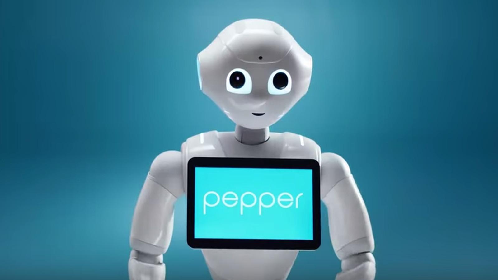 Robot Pepper, o robot que lida com emoções humanas