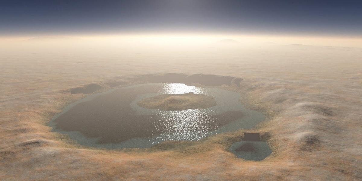 Afinal há água em Marte