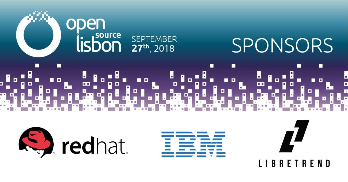 Open Source Lisbon 2018 já tem patrocinadores confirmados