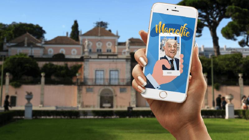 Marcelfie: tire uma selfie com o Presidente da República
