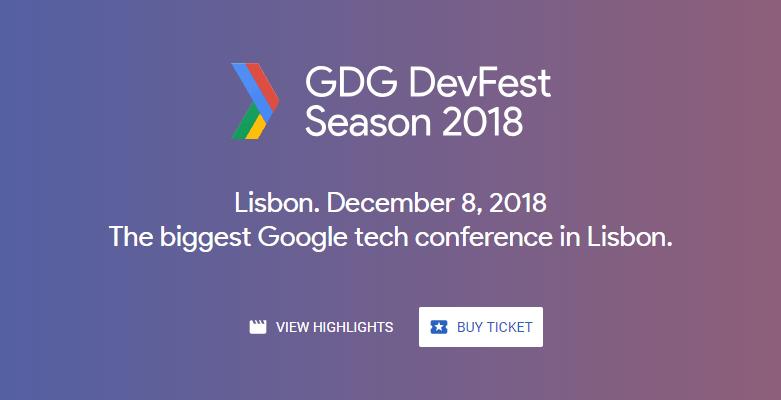 Read more about the article DevFest Lisboa'18 regressa já a 8 de Dezembro