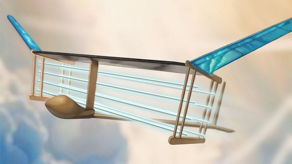 Avião sem hélices ou turbinas? Sim, é possível