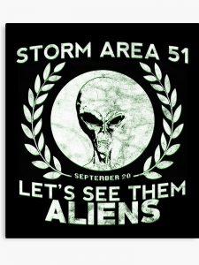 Área 51: De piada do Facebook, já é um jogo e amanhã é dia
