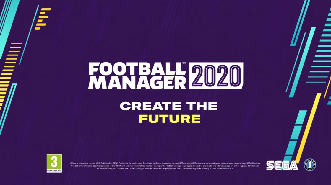 Football Manager 2020 já chegou