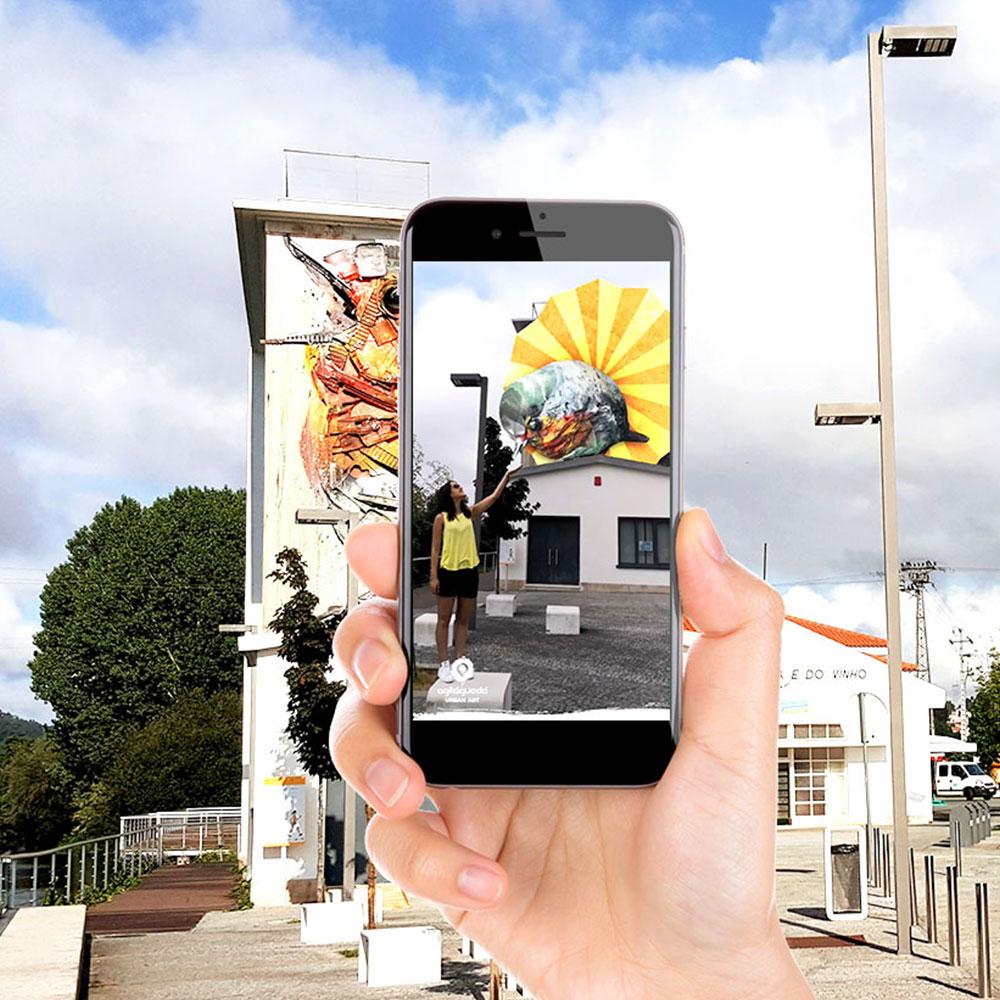 Read more about the article WebSummit ficou a conhecer ARt: a app portuguesa de Realidade Aumentada para Arte Urbana